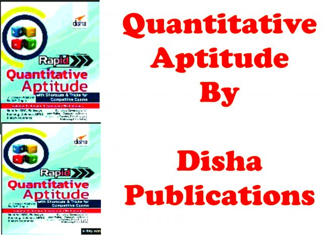 Quantitative Aptitude Books