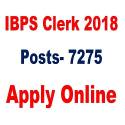 IBPS CLERK 2018 APPLY ONLINE